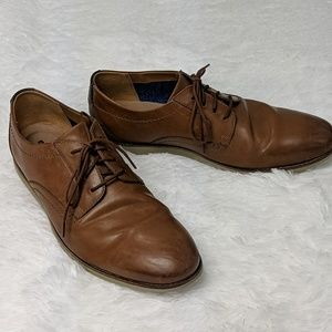 Clark's lightweight lace up leather loafer shoes
